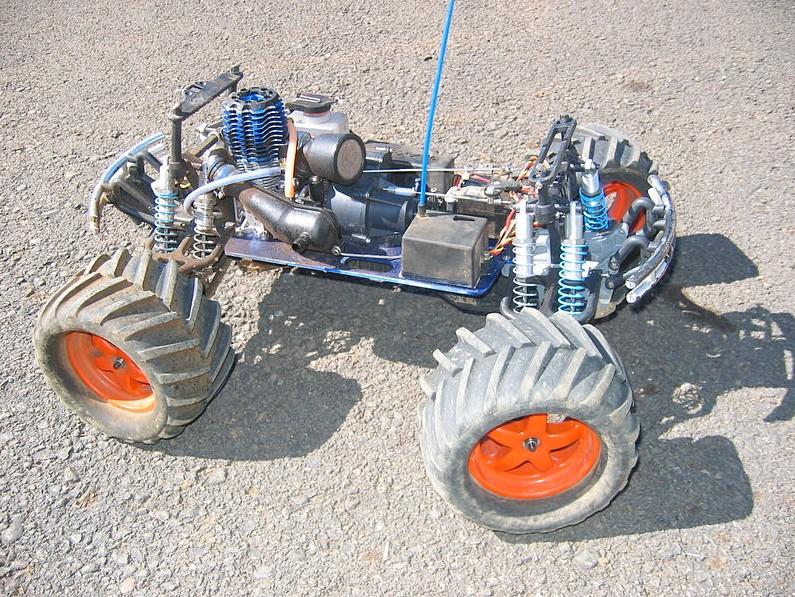 Nitro powered models