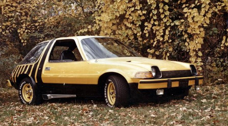 AMC Pacer in yellow